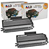 LD © Compatible Brother TN650 Set of 2 High Yield Black Laser Toner Cartridges, Office Central