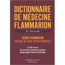 Dictionnaire de Medecine Flammarion 8e Ed.