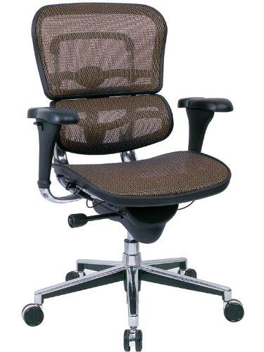 Eurotech Mid Back Mesh Task Chair - Ergohuman Mesh ME8ERGLO