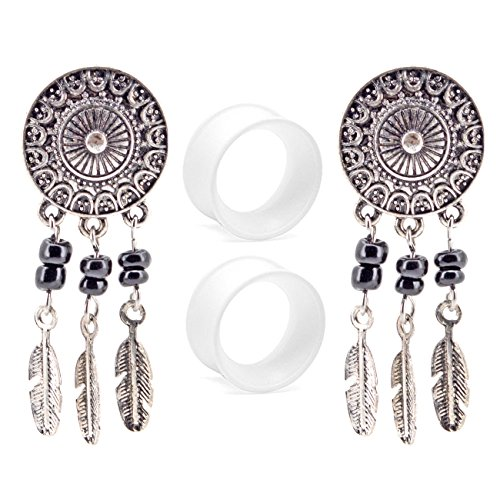 0 gauge plugs dream catcher - 8