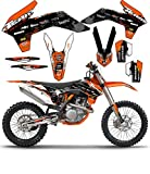 Team Racing Graphics kit for 2005-2007 KTM EXC, SCATTER