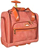 Nicole Miller Jody Collection Under Seat Bag Carry On (Orange)