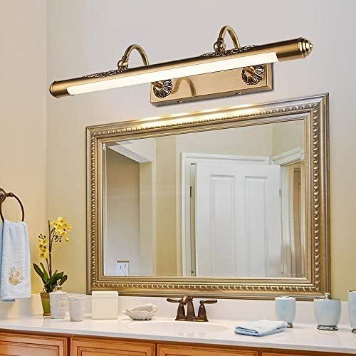 HIZLJJ LEDバニティライト洗面化粧台の光は、現代のバニティ照明ウォールライトアクリルウォールマウント浴室照明、暖かい光を拡張します (Size : S)