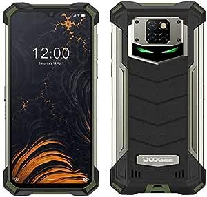 Smartphone Resistente DOOGEE S88 Pro 10000mAh Batería, Octa-Core 6GB + 128GB Android 10, Cámara Cuatro 21MP, 6.3