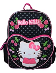 Hello Kitty Deluxe embroidered 16 School Bag Backpack