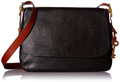 Fossil Harper Large Crossbody, Black, One Size by Fossil