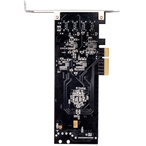 SHINESTAR 5 Gbpbs USB 3.0 to PCIe Expansion Card,4 Port Independent USB 3.0 to PCI Express 3.0 x4 Controller Hub Card with Low Profile Bracket, SATA and LP4 Double Power Supply for PC Desktop, Support by SHINESTAR (Image #5)
