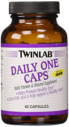 Twinlab Daily One without Iron and with Florglo, 60 Count