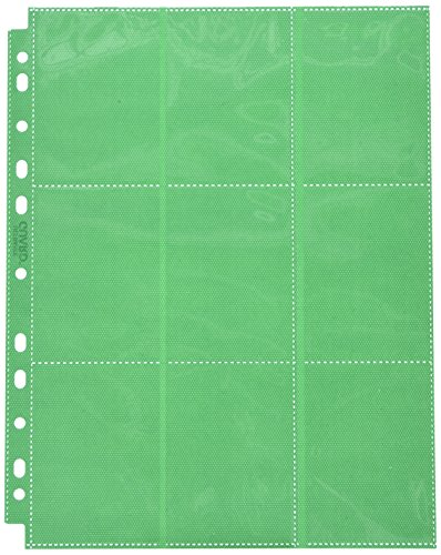 Side Load Page: (50) Card Game (18 Package), Green by Ultimate Guard