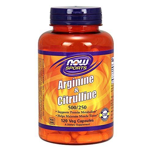 Arginine Citrulline 500 250mg Foods