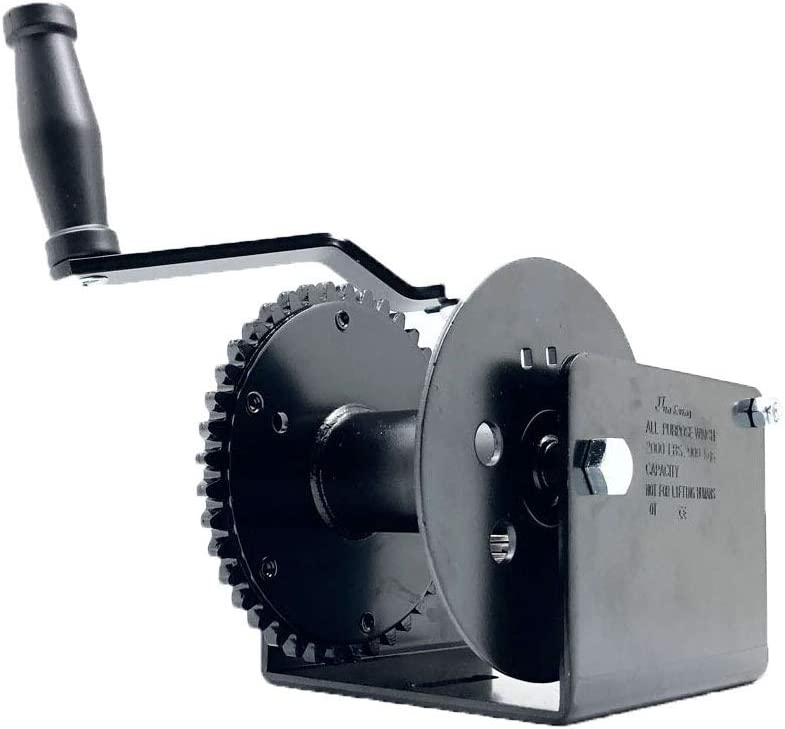 Industro 826 Worm Gear Puller Hand Winch Electrostatic Powder Coated