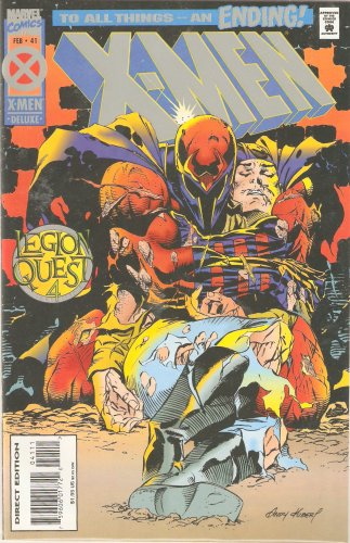 X-Men #41 (Legion Quest 4) Vol. 1 Feb. 1995, used for sale  Delivered anywhere in USA