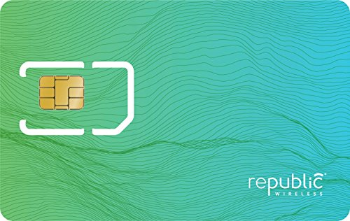 Republic Wireless SIM Starter Kit