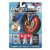 Street FX 1042197 Tire Technix Moto Hex Red Light