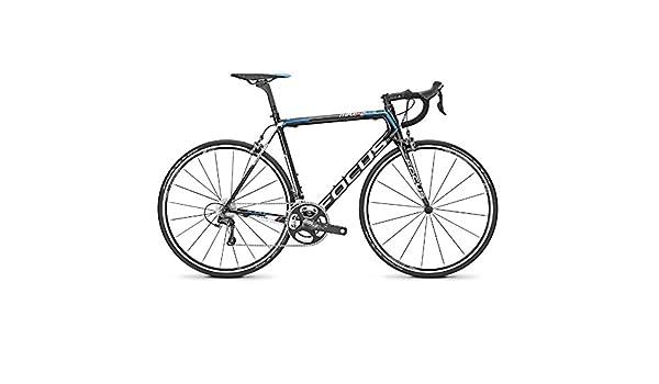 Focus - Bicicleta Izalco Max 5.0 Negra Azul - Talla: M: Amazon.es ...