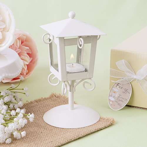 'Love Lights The Way' Vintage Candle Lamp , 48