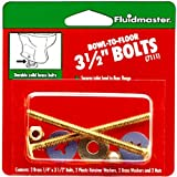 Fluidmaster 7111 3-Inch Bowl to Floor Bolts