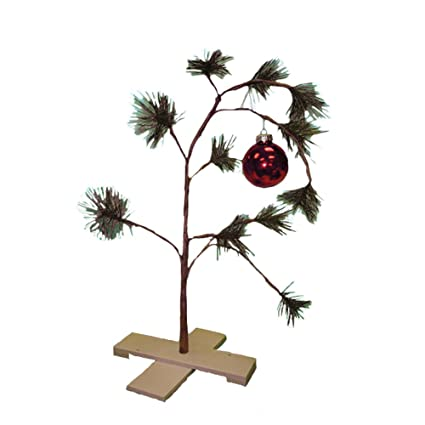 Amazoncom Charlie Brown Christmas Tree Musical Home Kitchen