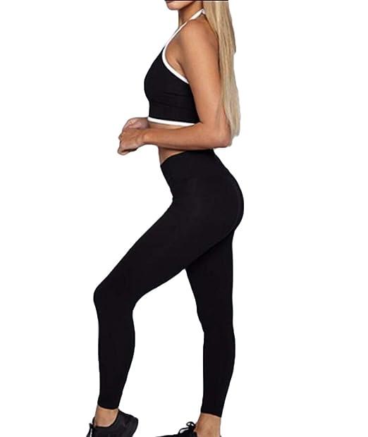 Amazon.com: Leggings para mujer, deportivos, yoga ...