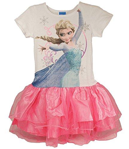 (Frozen Disney Queen Elsa Youth Girls tutu Dress Costume)