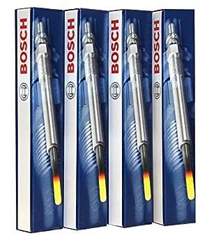 Juego de 4 Bujías Incandescentes Bosch, 0250212009: Amazon.es: Coche y moto