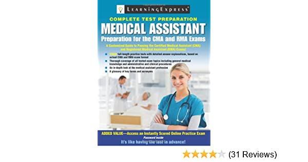 Medical Assistant Exam: Preparation for the CMA and RMA Exams ...