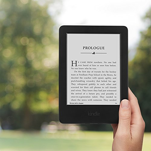 Kindle, 6″ Glare-Free Touchscreen Display, Wi-Fi – Includes Special Offers