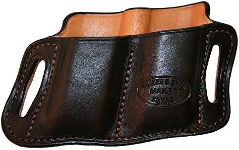Right seits - Tucker und Byrd #2 Double Mag Pouch - Glock 17-22-31 - Black