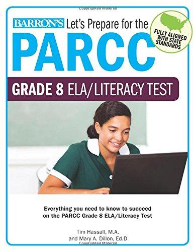 Let's Prepare for the PARCC Grade 8 ELA/Literacy Test (Let's Prepare for the PARCC… Tests)
