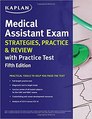 Medical Assistant Exam Strategies Practice Review With Practice