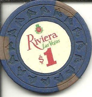 Las Vegas Nevada vintage $.50 Riviera Casino chip