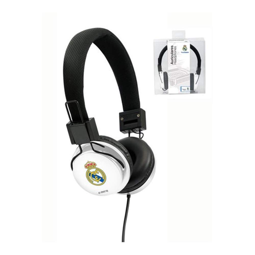Seva Import Real Madrid Auricular Casco, Negro, S: Amazon.es: Deportes y aire libre