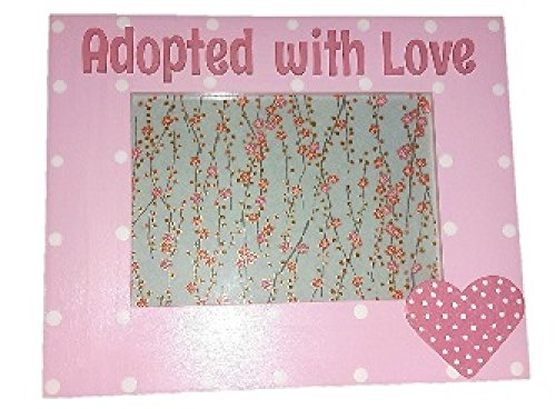 Adopted With Love Adoption Picture Frame - Frames Oscar Glasses
