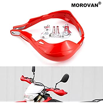 Tms Red Handlebar Hand Brush Guards For Honda