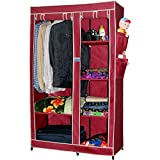 CbeeSo Portable Metal Frame Wardrobe Closet. (CB260-MR)