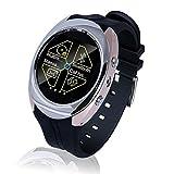 Jedy Waterproof bluetooth Smart Watch Phone smart watch insert SIM Card Smartwatch (Silver)