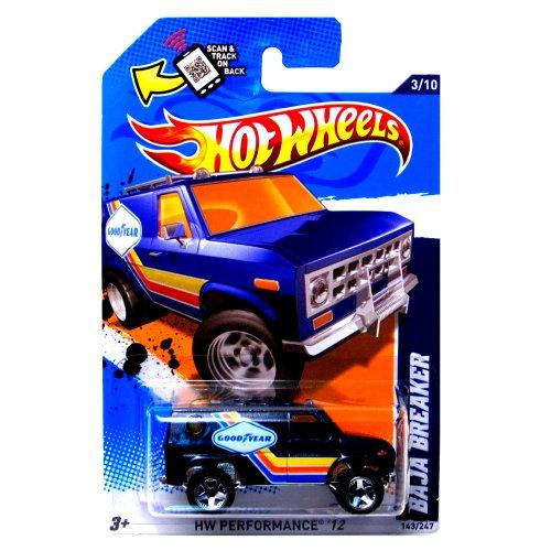 Hot Wheels 2012 Performance Baja Breaker Blue Card 143