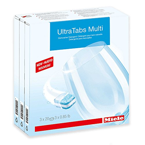 Price comparison product image Miele Dishwasher Tabs - 20 per box 3X20(60 count)
