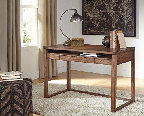rustic office. Baybroon Rustic Brown Wood Home Office Small Desk