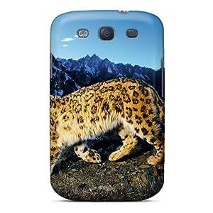 [dtB705ukqA]premium Phone Case For Galaxy S3/ Big Cat Tpu Case Cover