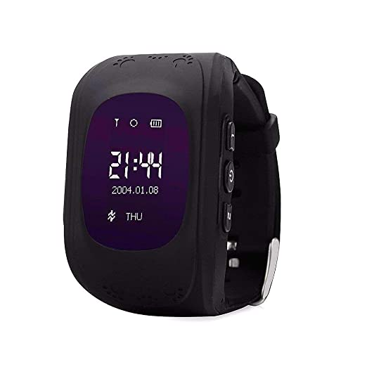Hangang GPS Tracker Niños Safe Smartwatch Sos Llamadas Localizador de localización de localizador Localizador Para niños Anti Lost Monitor Baby Son ...
