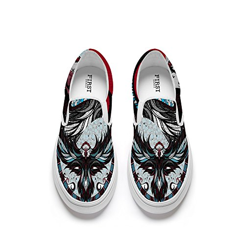 Shoes Slip Flats Fox Lion FIRST Women Women Loafers Animal7 DANCE Printed for Fashion Shoe Animal Shoes on Funny 0wBzqSP
