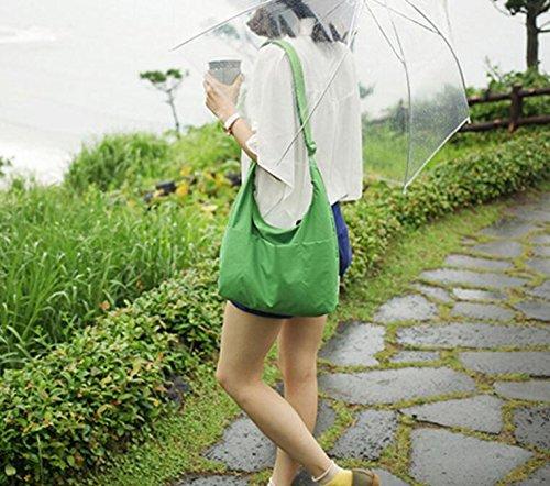 Waterproof Messenger Crossbody Women Color Bags Lightweight Shoulder Solid Ladies KeavyLee Bags Bag vgCwnB