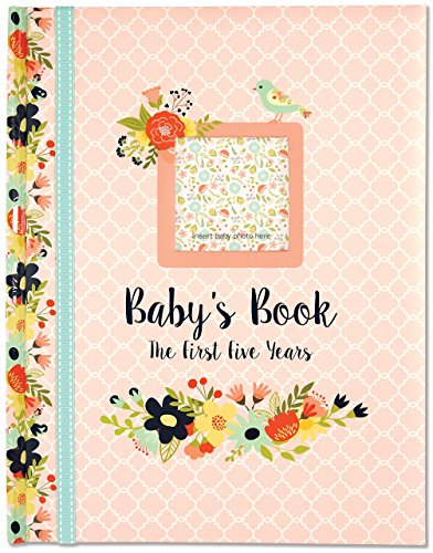 (Baby's Book: The First Five Years (Floral design))
