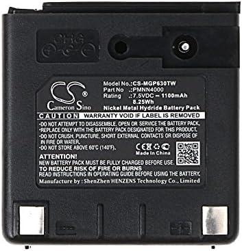 Li-ion 2000maH PMNN4000  Battery Pack for motorola Radio GP63 GP68 GP688