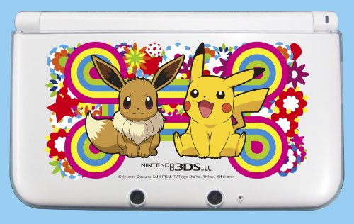 Hard cover for Nintendo 3DS LL Pikachu & Eevee(Japan Import)