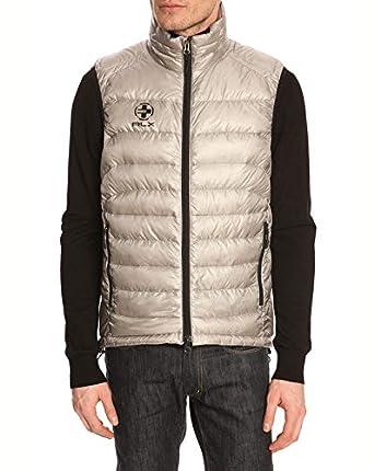 Polo Ralph Lauren - Down Jackets - Men - Sleeveless puffer jacket Light RLX  Silver for