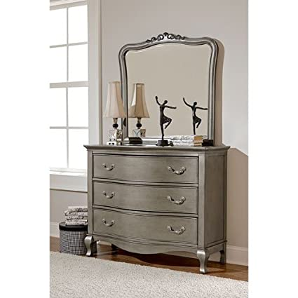 Amazon.com: NE Kids Kensington 3 Drawer Dresser with Mirror in ...