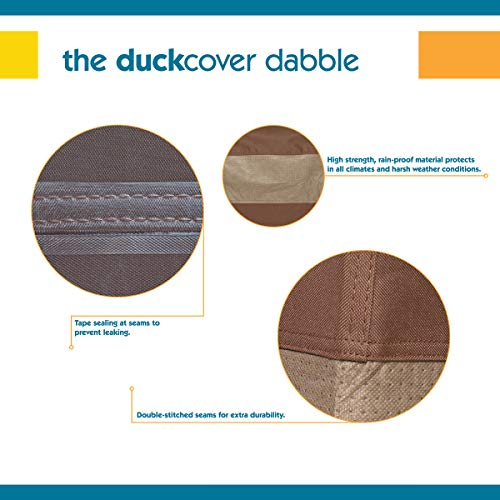 Duck Covers Ultimate Patio Chair Cover, Fits Patio Chairs 32'' Wide by Duck Covers (Image #3)