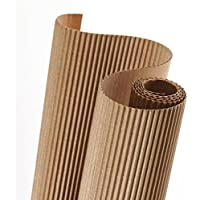 Rollo 50x70 cm, Canson Cartón Ondulado 300g, Beige
